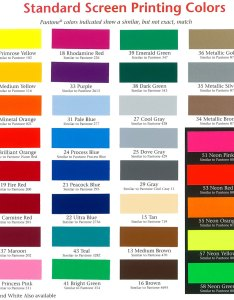 Union ink color chart focus inc labels and bumper stickers also hobit fullring rh
