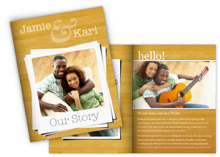 Create An Adoption Profile Book