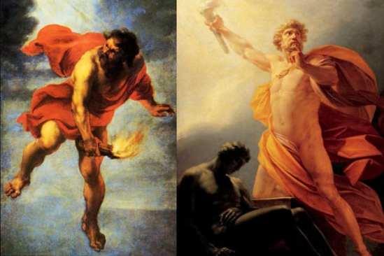 Risultati immagini per prometeo e gli uomini