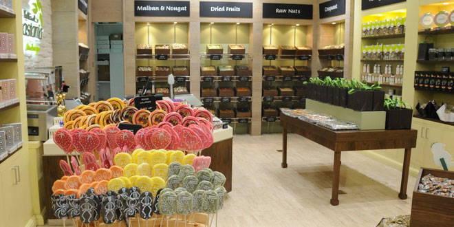 Castania Nut boutique au Beyrouth City Center