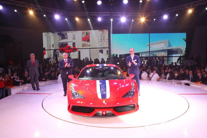 Lancement de la Ferrari 458 Speciale