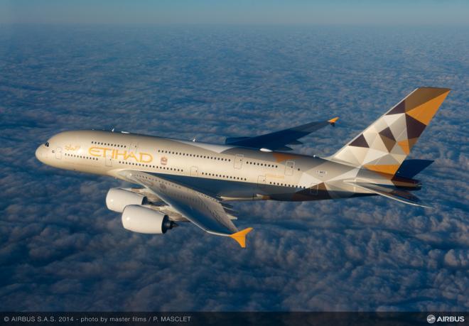 Lancement des premiers A380 et B787 de Etihad Airways à Abu Dhabi