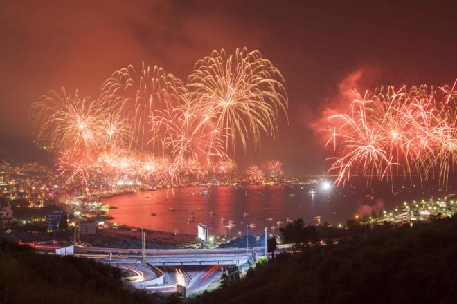 Une inauguration à couper le souffle pour le festival international de jounieh 2015