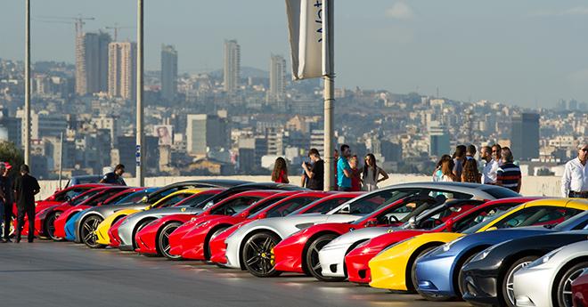 Le dernier ride de l'été du Ferrari Owners Club Lebanon