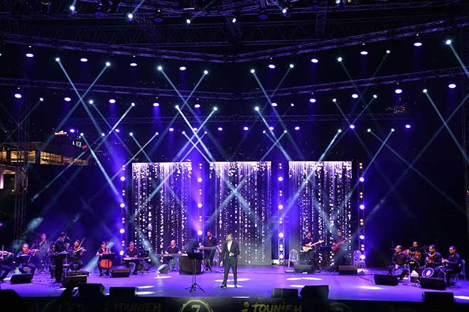 Excellente performance de Wael Kfoury au 7ème Festival International de Jounieh