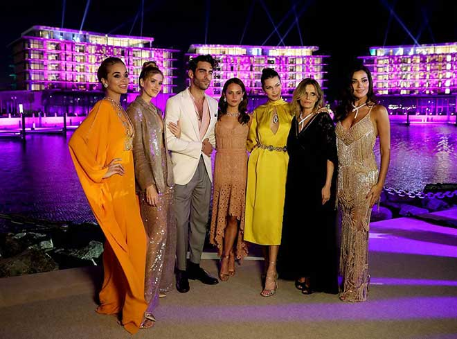 Opening Gala sees Bulgaria's latest jewel shine bright as VIPS and celebrities attend the launch of the Bulgari resort Dubai