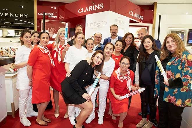 Dr Olivier Courtin-Clarins lance MY BLEND à Beyrouth