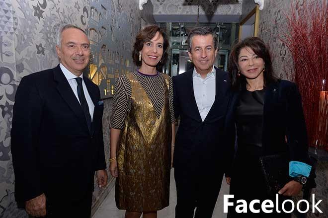 Dîner de Cyril Karaoglan à Liza Beirut