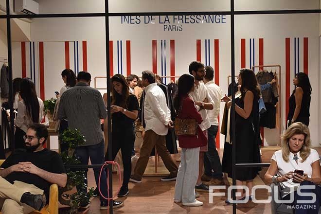 Opening of Ines de La Fressange in Lebanon