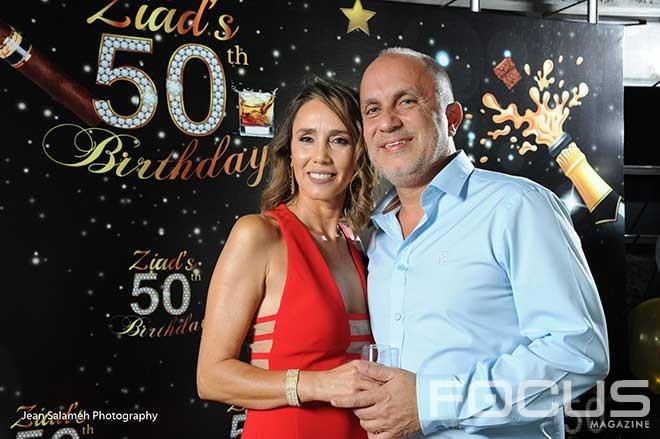Dr Ziad Massaad fête ses 50 ans au Mandaloun