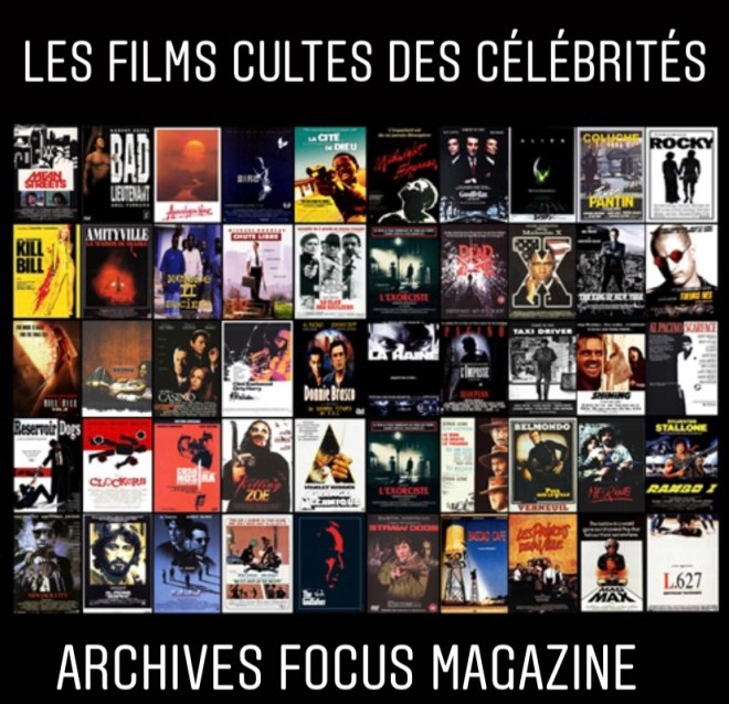 LES FILMS CULTES DES CÉLÉBRITÉS