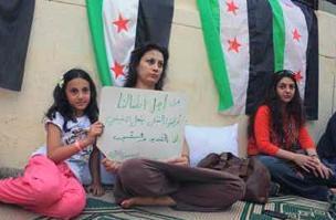 Syrians in Egypt (credit: Al Ahram online)