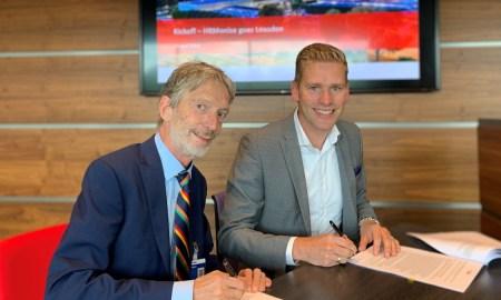 TUE ondertekening van het contract met AFAS