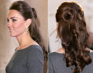 Kate Middleton Hair How To Style Updo FocusOnStyle Com