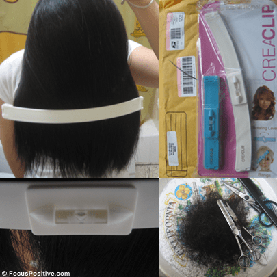Cutting My Own Hair: CreaClip vs the Rubber Band Method ...
