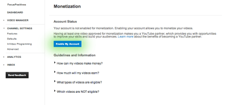 monetization not available in your country, united states