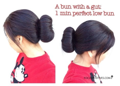 Sock Bun Curls For Naturally Curly Hair
