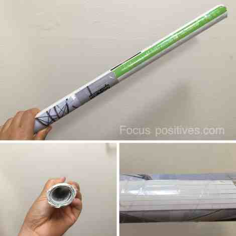 paper massage wand