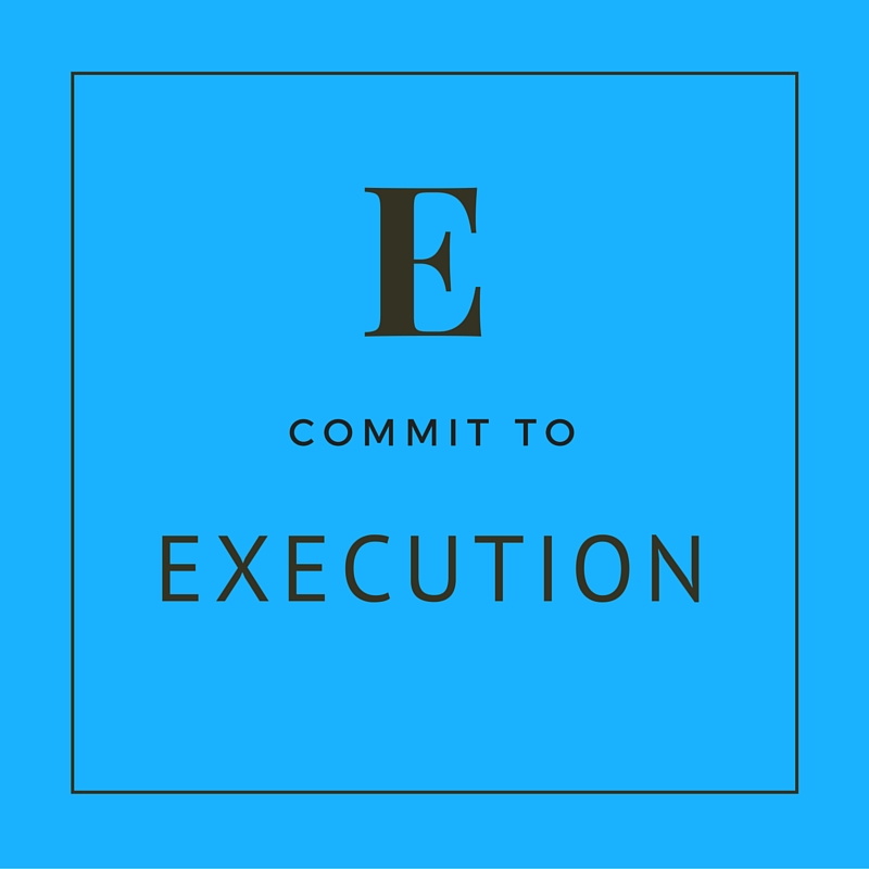 Execution Getting Things Done