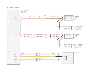 Factory Wiring Diagram from the Sony Amp for SYNC3 w Nav