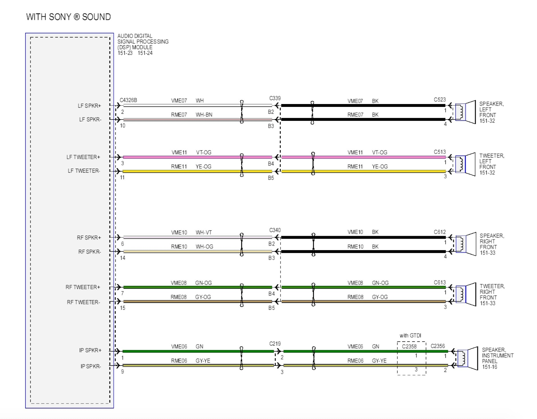 hight resolution of ford speaker wiring wiring diagram today
