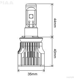name piaa led bulb h8 h9 h11 h16  [ 1500 x 1500 Pixel ]