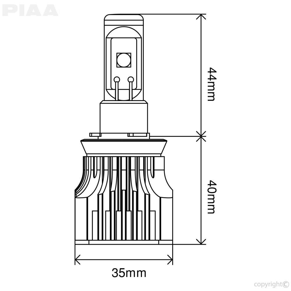 medium resolution of name piaa led bulb h8 h9 h11 h16