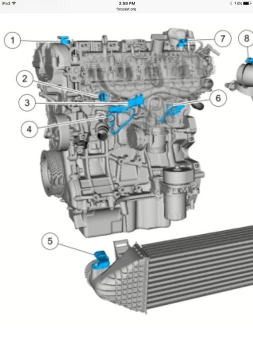small resolution of knock sensorst focus knock sensor diagram 5