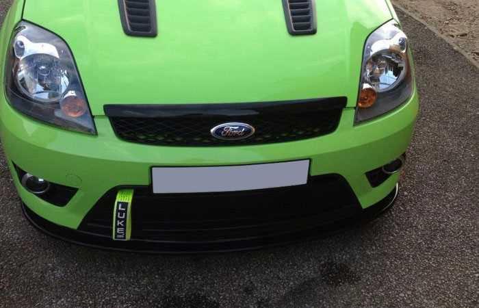 Ford Fiesta ST150 Mk6 RS Style Bonnet Lip SCC Performance