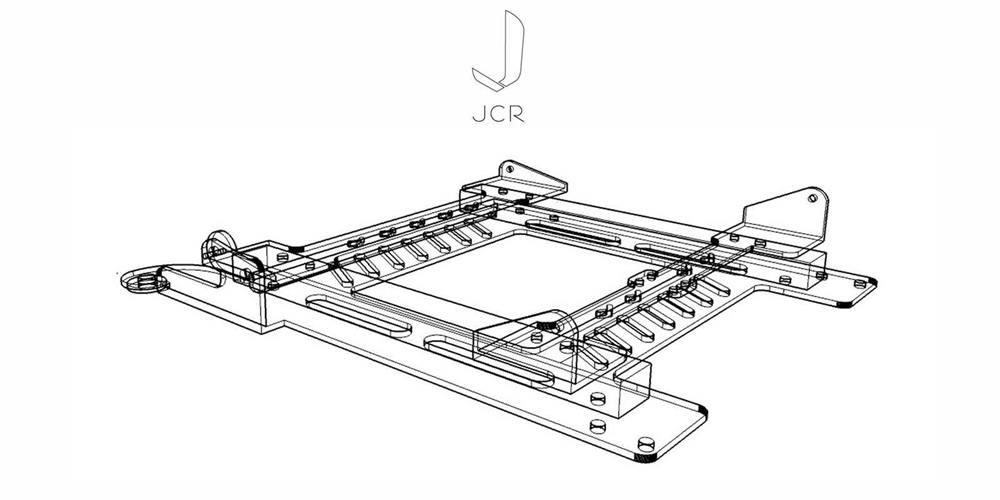 Jcr Mk2 Focus Rs Superlow Seat Frames Drivers Lhd