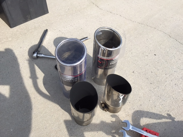 4 5 inch exhaust tips ford focus st
