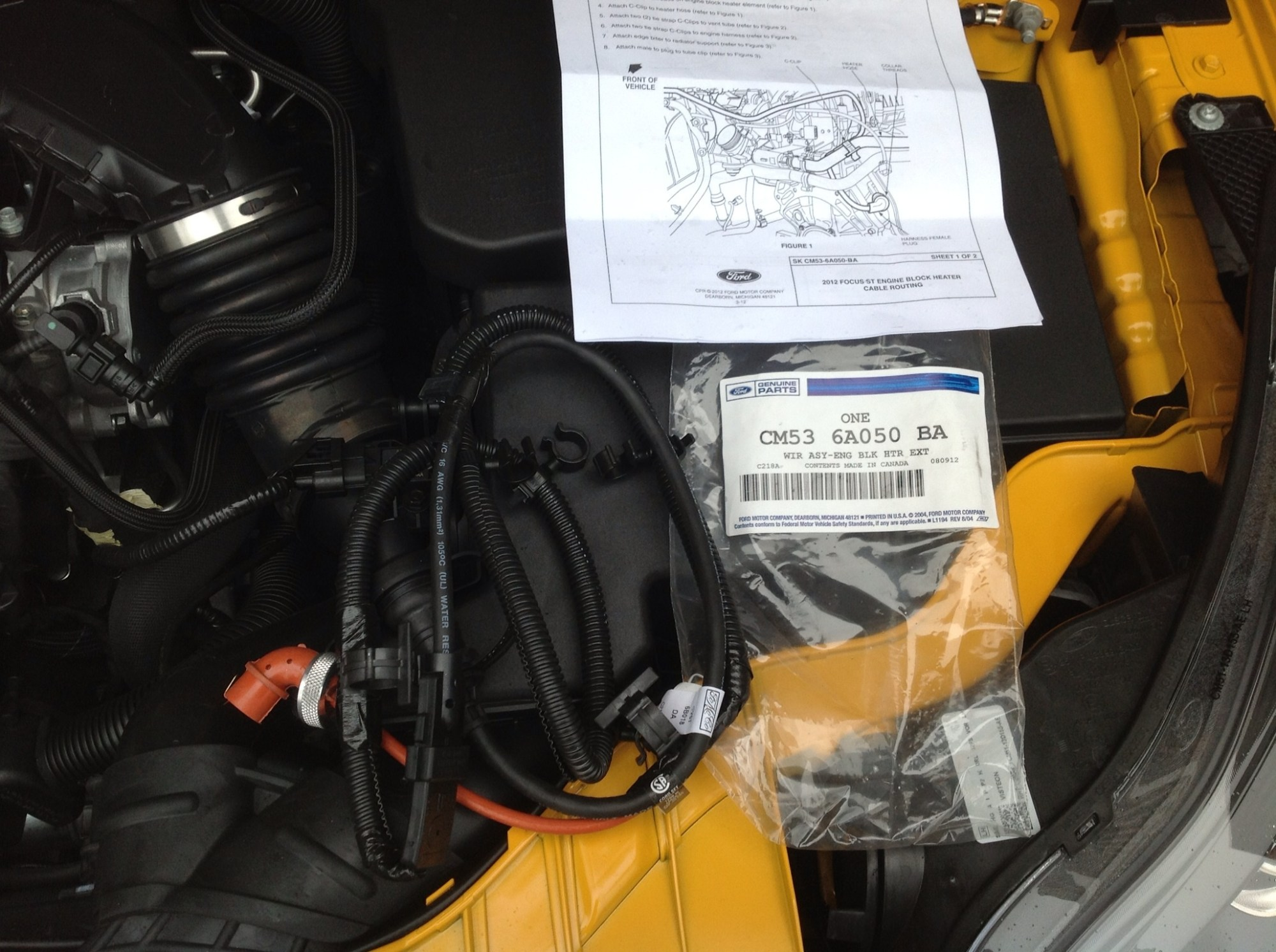 hight resolution of engine block heater harness write up engine block heater harness write up ford 6 0 wiring harness