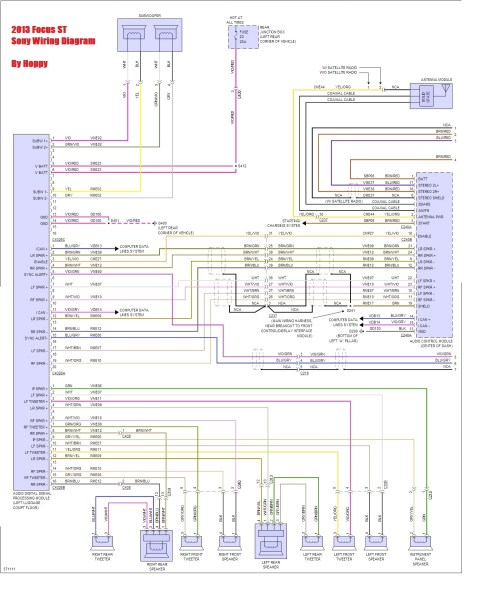 small resolution of need speaker wiring guidance rears help please ford focus wiring diagram pdf 2014 ford focus speaker