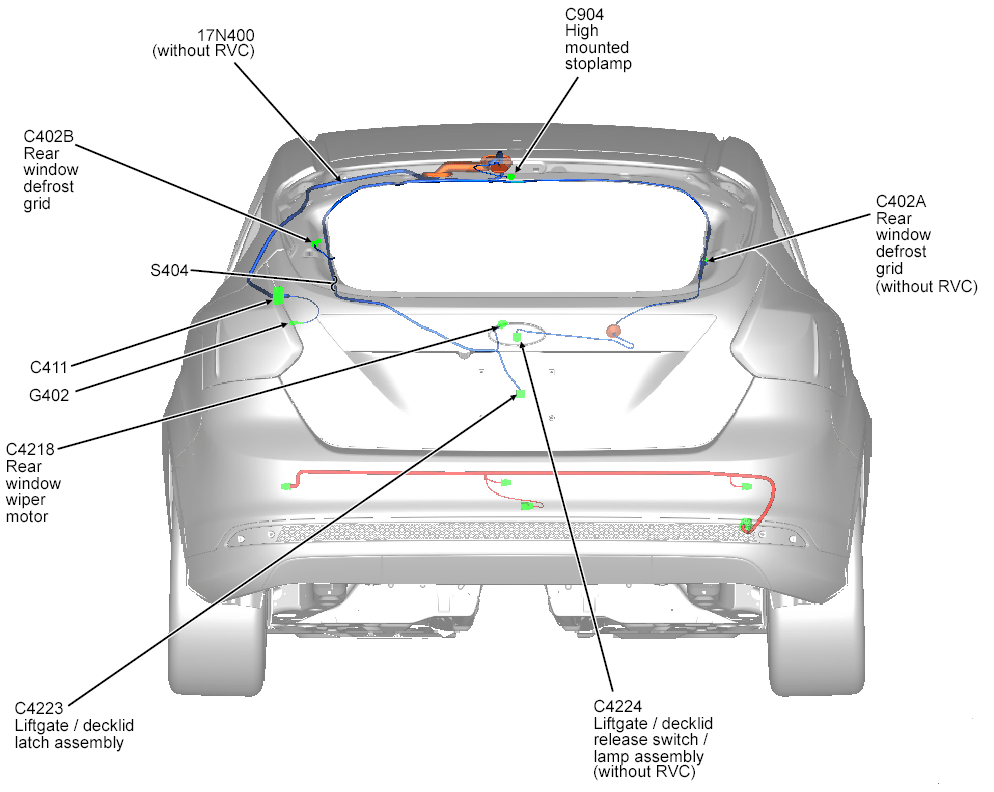 2014 ford focus stereo wiring harness