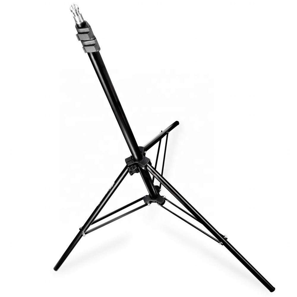 Photo Video Aluminum Adjustable 2m Light Stand with Case
