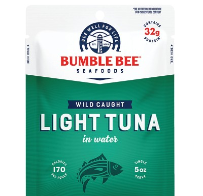 Bumble Bee sells some tuna in pouches rather than cans.