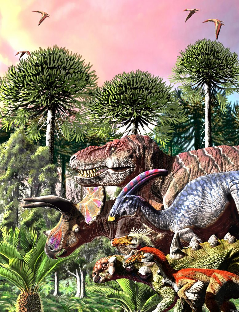 Last March of Dinosaurs