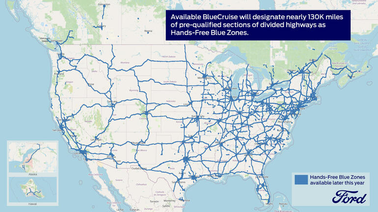 Ford Blue Zones Map