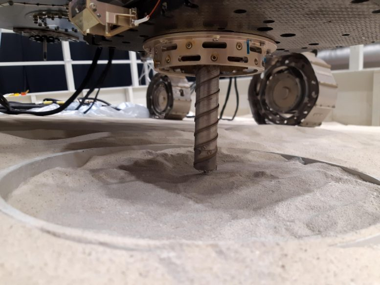 Rosalind Franklin Twin Rover Ready to Drill