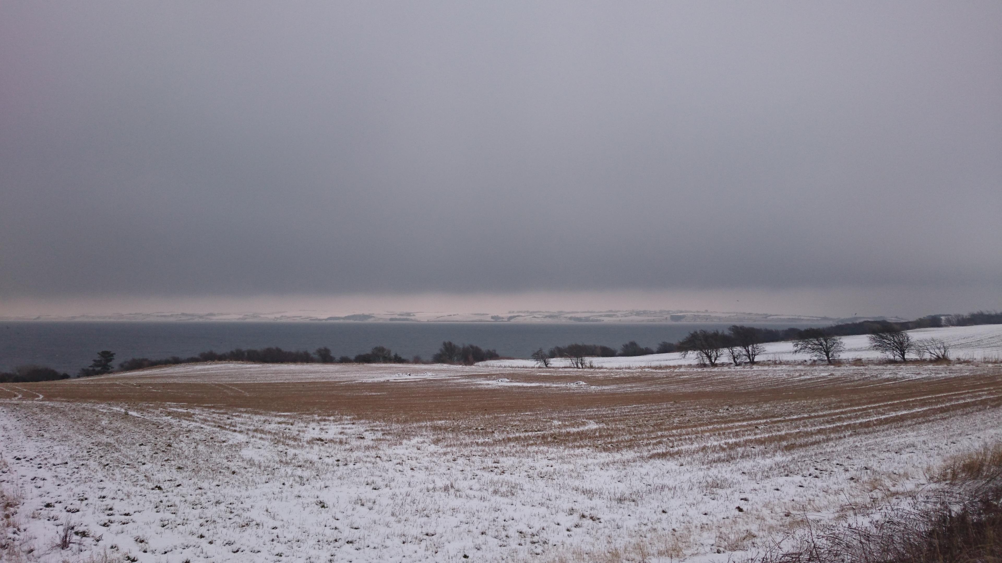 Til Visby i sne og slud