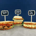 Running out of low FODMAP lunch ideas? Check out these Low FODMAP sandwiches. Try a low fodmap toasted tomato sandwich, a BLT, or an egg salad sandwich.