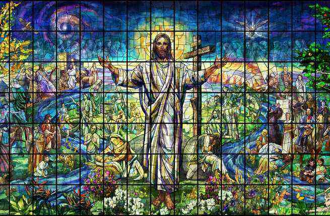Kansas Church Unveils World S Biggest Stained Glass Window Fodors Travel Guide