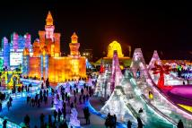 Ice Sculptures Bars Hotels And Attractions World