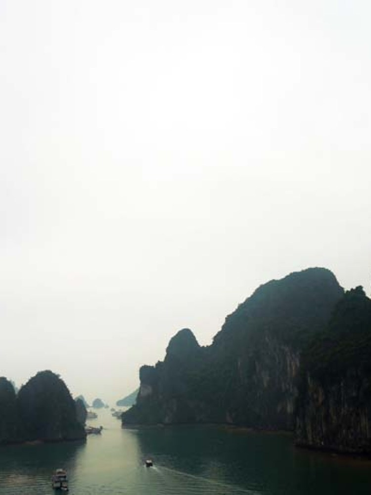 Halong Bay route vietnam