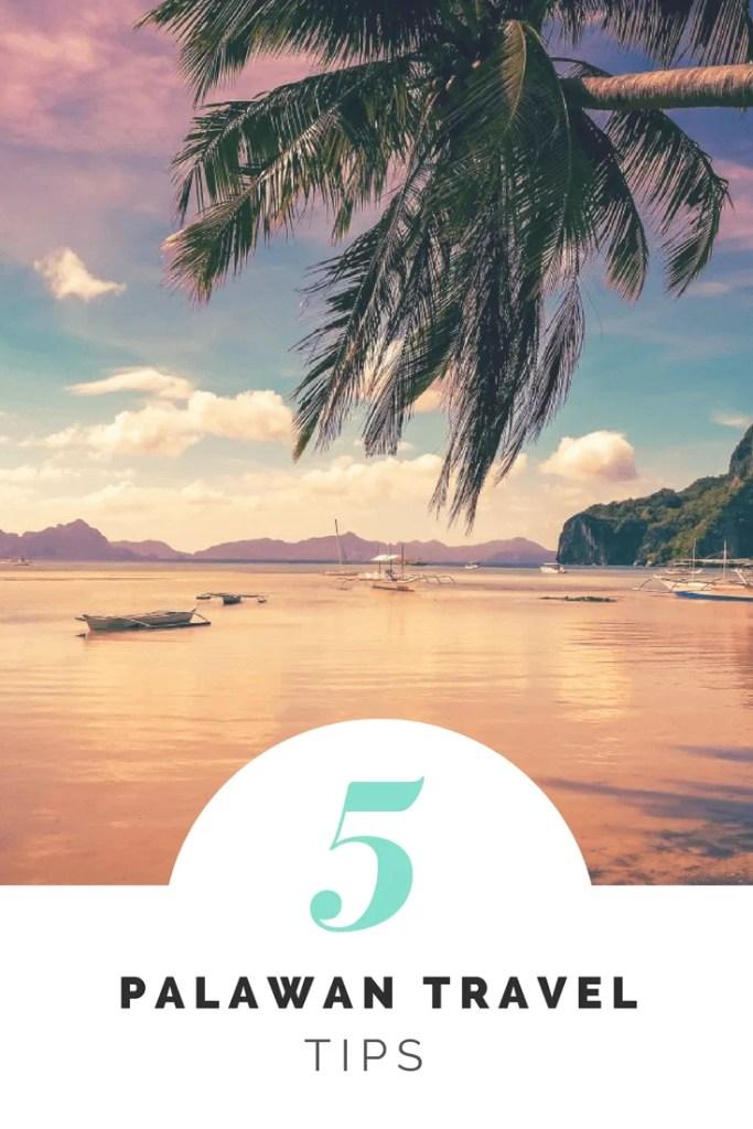 5 palawan tips
