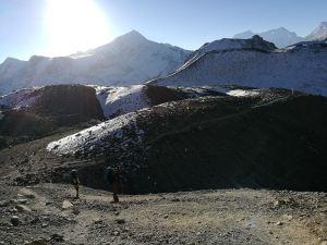 De route Annapurna Circuit