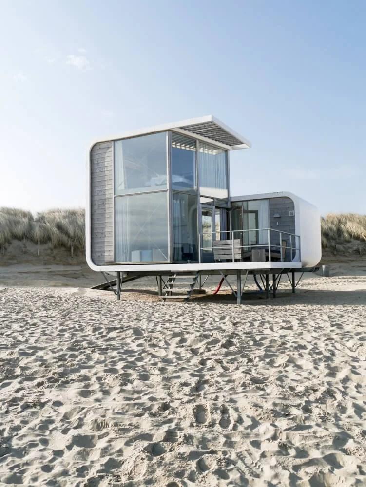 Strandweelde strandhuisjes
