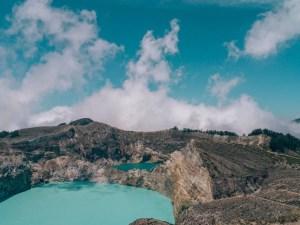 Moni en vulkaan Kelimutu
