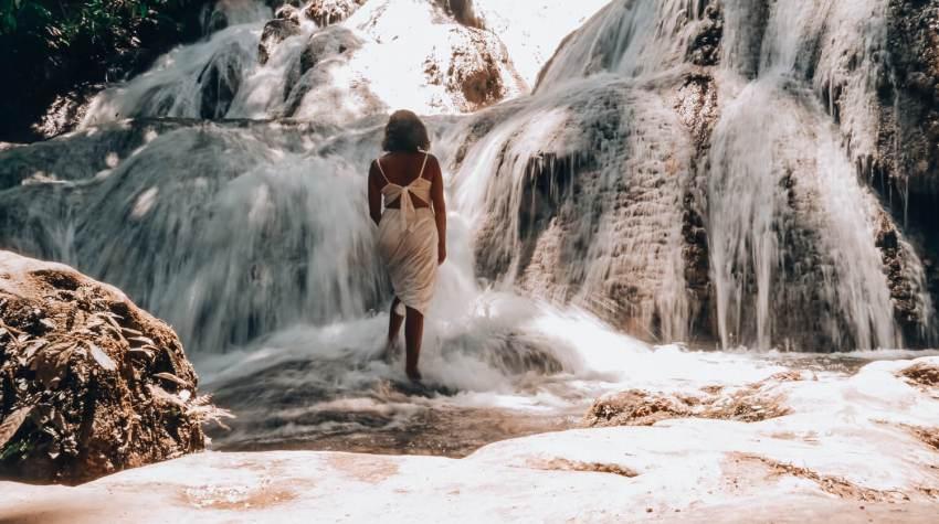 Saluopa waterval