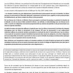 communiqué de presse SNFOLC57 18-02-2021